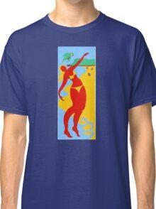 Gold Coast Red Bikini Girl Classic T-Shirt