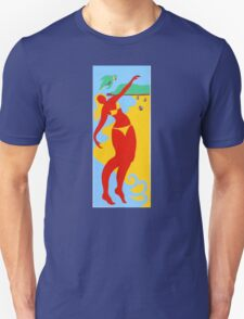Gold Coast Red Bikini Girl T-Shirt