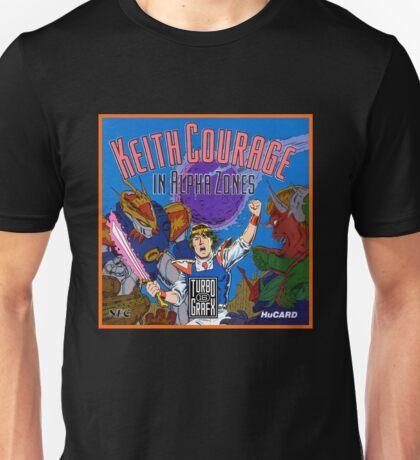 Keith Courage - Turbografx Box Art Unisex T-Shirt
