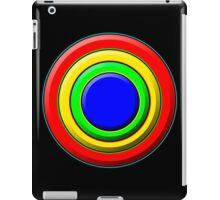.Pattern A-8. .Full Size - Centered - Black. iPad Case/Skin