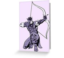the avenging archer Greeting Card