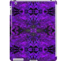 Purple Fractal Tribute iPad Case/Skin