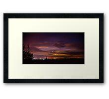 Night Scapes 3/Redmond Framed Print