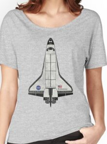 Endeavour NASA Space Shuttle Women's Relaxed Fit T-Shirt