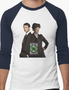 The Master & Missy: The Perfect Couple Men's Baseball ¾ T-Shirt