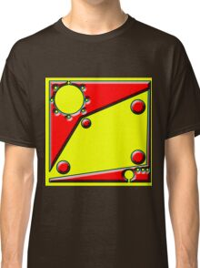 .Pattern B-2. .Centered And Fitted. Classic T-Shirt