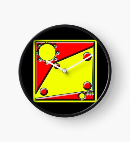 .Pattern B-2. .Centered And Fitted. Clock