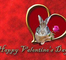 Valentine's Day Bunny by jkartlife