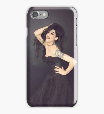 Adore Delano - Black Dress iPhone Case/Skin