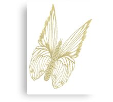 Gilded Butterfly Canvas Print