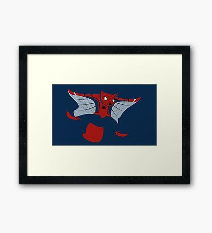 Spider Squirrel Framed Print