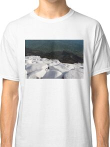 Sunny Winter Layers on the Lake Classic T-Shirt