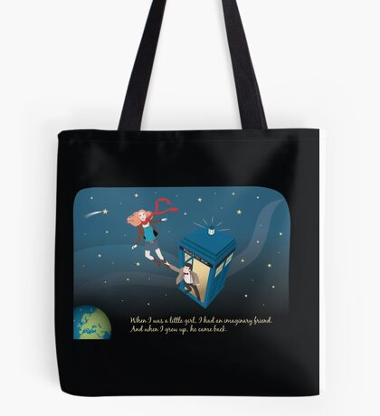 Amy Pond and the Doctor Tote Bag