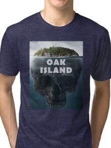 Oak Island Nova Scotia Canada Tri-blend T-Shirt