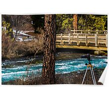 Wide Angle/Metolius River Poster