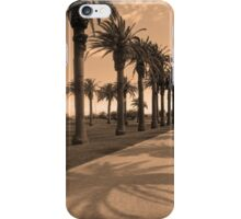 Palm shadow iPhone Case/Skin