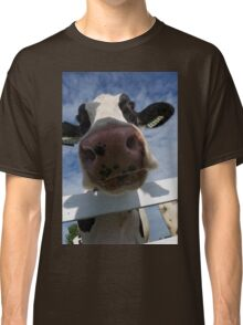 Up Close Of A Cow Classic T-Shirt