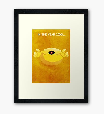 That Yellow Devil Framed Print