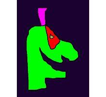 Weird green guy Photographic Print