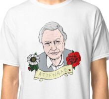 David Attenborough - AttenBae in Colour Classic T-Shirt