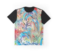 Fountain of Color Graphic T-Shirt