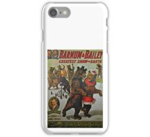 Ringling Brothers and Barnum and Bailey  iPhone Case/Skin