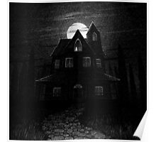 Drawlloween 2014: Haunted House Poster