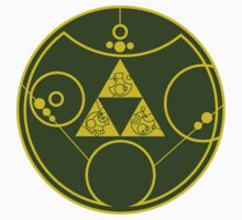 Gallifreyan Hylian Crest Kids Clothes