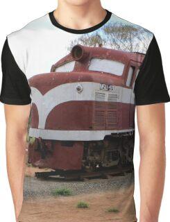 Old Ghan Train, Alice Springs, Australia Graphic T-Shirt