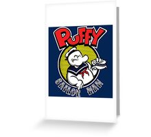 Puffy the Sailor Man Greeting Card