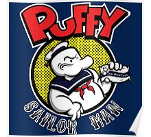 Puffy the Sailor Man Poster