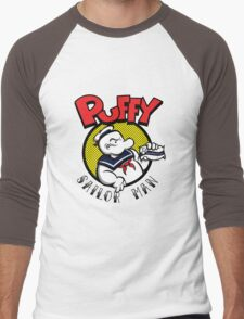 Puffy the Sailor Man Men's Baseball ¾ T-Shirt