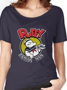 Puffy the Sailor Man Women's Relaxed Fit T-Shirt