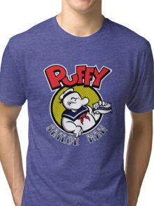 Puffy the Sailor Man Tri-blend T-Shirt