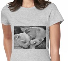 Sleeping Cuties Womens Fitted T-Shirt