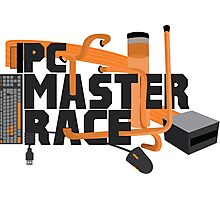 PC MASTER RACE - LOGO Photographic Print