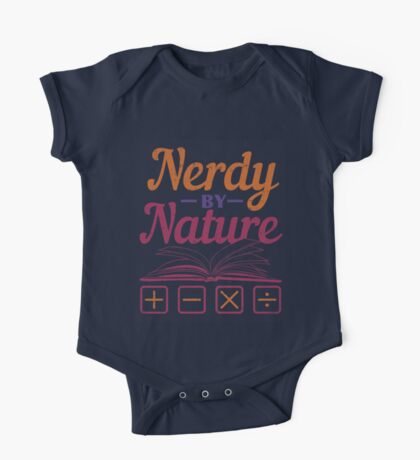 Nerdy By Nature T Shirt One Piece - Short Sleeve