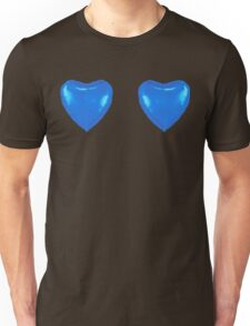 Blue Heart Balloon Unisex T-Shirt