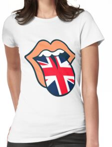 Rolling Stones UK Womens Fitted T-Shirt