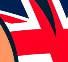 Rolling Stones UK Sticker