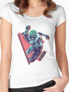 C H A I N.EXE Women's Fitted Scoop T-Shirt