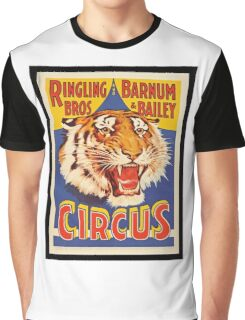 Ringling Brothers Vintage Poster Graphic T-Shirt