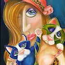 The Cat Lady, by Alma Lee by Alma Lee