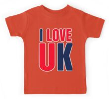 I Love UK Kids Tee