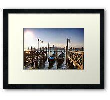 Iconic Venice Framed Print