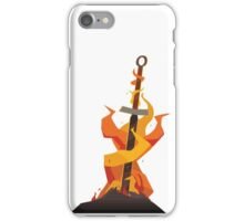 The Coiled Sword iPhone Case/Skin
