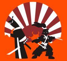 Samurai in the sun Kids Clothes
