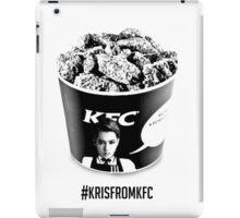 #krisfromKFC iPad Case/Skin