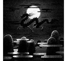 Drawlloween 2014: Dragon Photographic Print