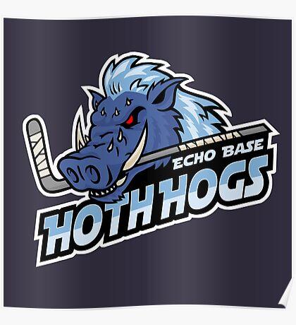 Hoth Hogs Hockey Team Poster